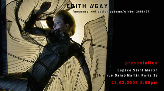 Edith Agay Fashion Vienna Wien
